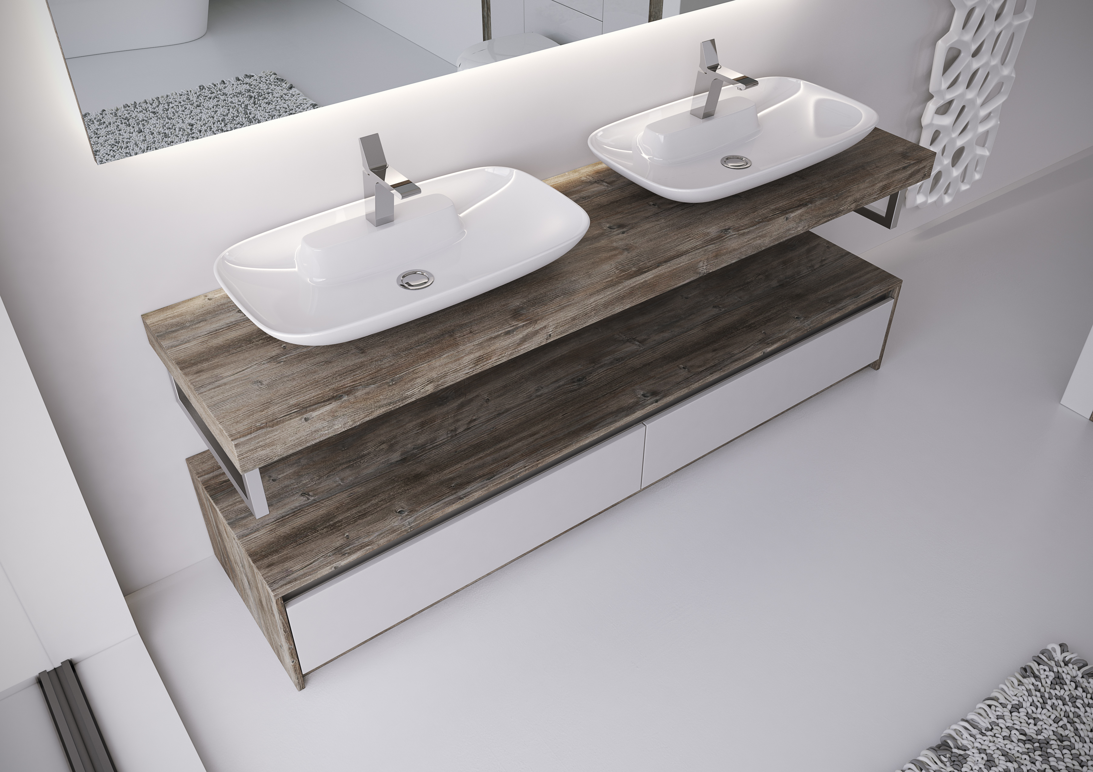 Ideas | Modern Bathroom Fitted Furniture - Bluewater