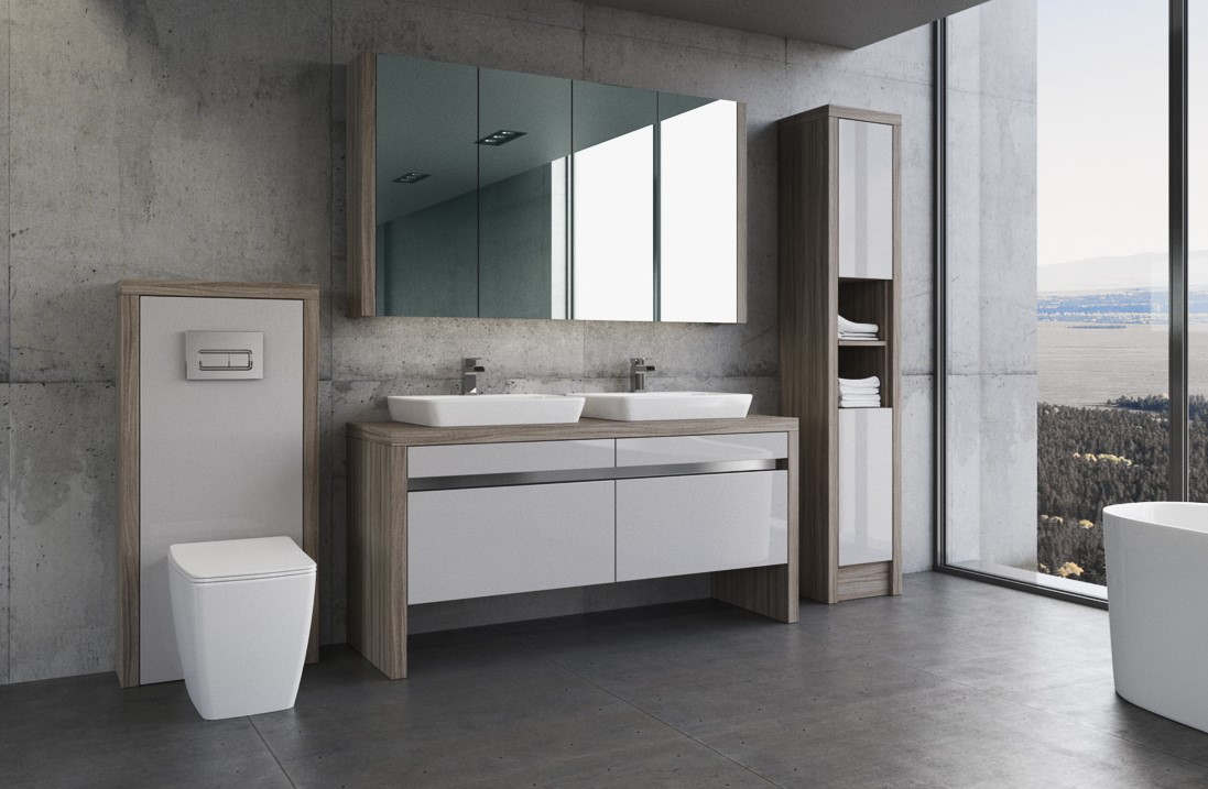 Ideas modern bathroom fitted furniture bluewater for Bathroom furniture